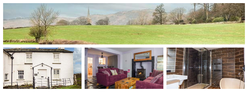 dog friendly cottage south lake district sleeps 4