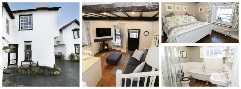 hawkshead self catring cottage for 2