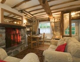 ambleside cottage with open fire
