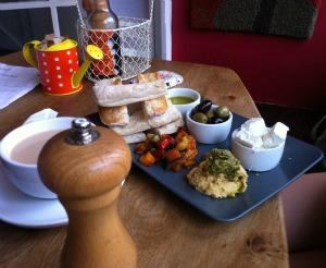 vegetarian cafe lake district