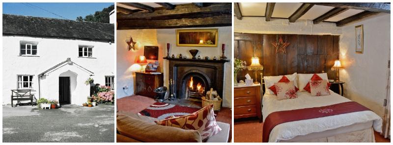 open fire romantic getaway for 2 near Windermere