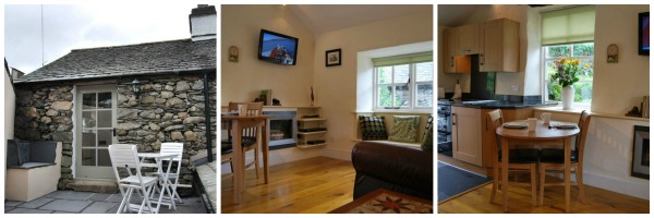 Sleeps2 lake district cottage