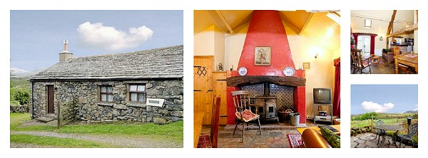 Sleeps 2 Lake District Cottage Dog Welcome
