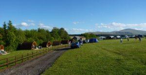 cumbria camping pods