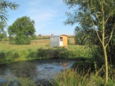 shepherd hut holiday