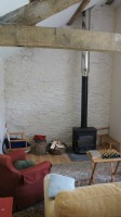 Camping Barn with Woodburning stove