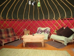 holiday yurt