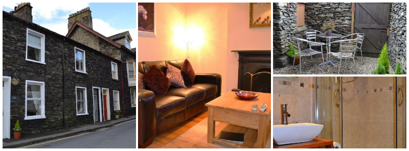 Sleeps4, ideal for 2 couples, dog friendly ambleside