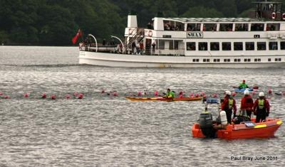 open water swimming Lake Windermere