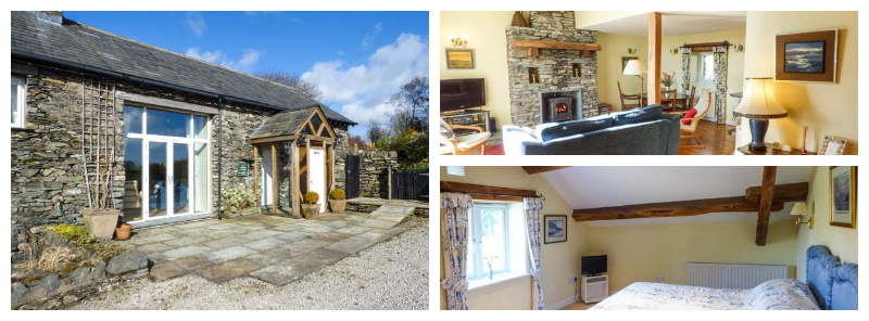 south lakeland cottage sleeps 4