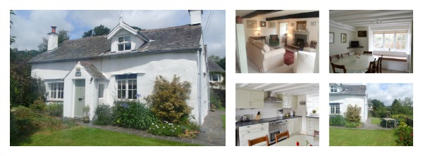Sleeps 6 with an open fire close to Haverthwaite Railway and dog friendly