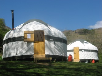yurt lake district