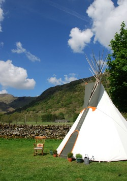 Lake District wigwam