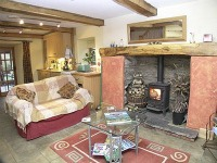 cottages in south lakes with woodburning stove