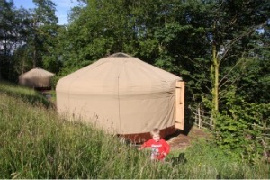 rent lake district yurt