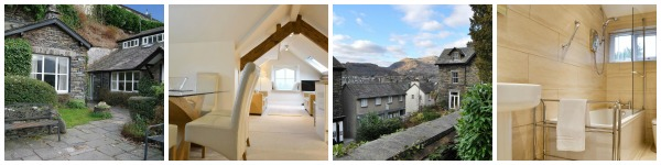 luxury self catering in ambleside sleeps 4