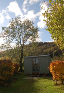 shepherds hut near keswick