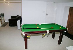 lake district holiday cottage with games room