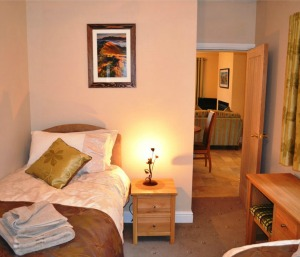 Sleeps 6 luxury cottage in Keswick