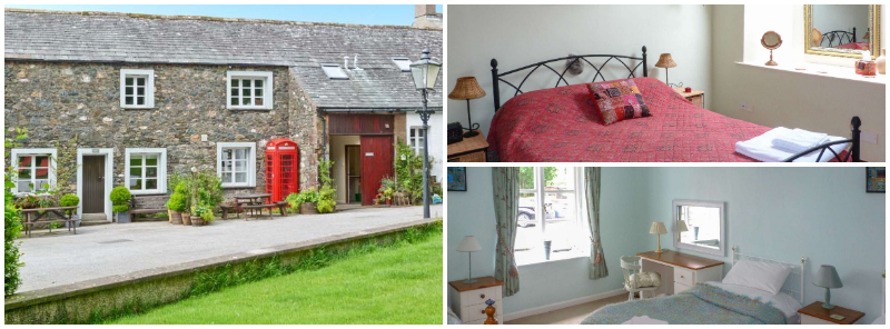 dog friendly sleeps 7 with games room near Go Ape and Osprey Project Lake District