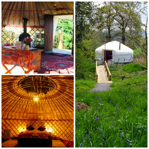 luxury glamping in the lake district
