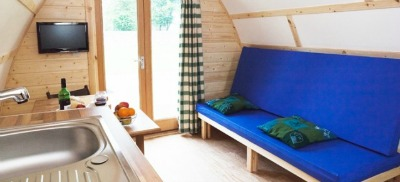 bunk tent with en suite