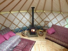 yurts in lake district