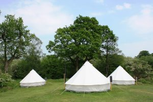 bell tent camping