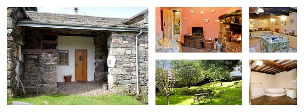 cottage near eskdale with open fire sleeps 2 - dog friendly