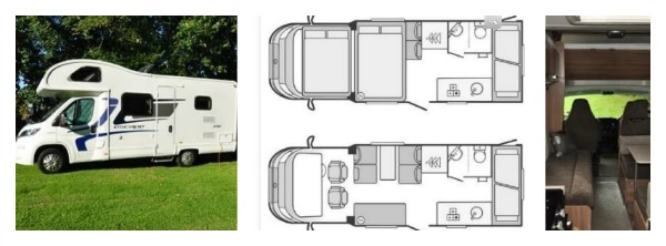 camper van for hire lake district