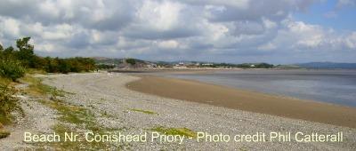 conishead priory beach