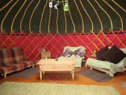 holiday yurt