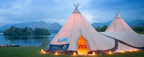 event tipi lake district