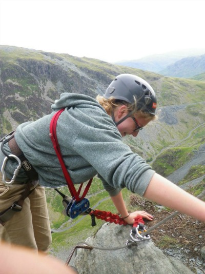 via ferrata honister lake district
