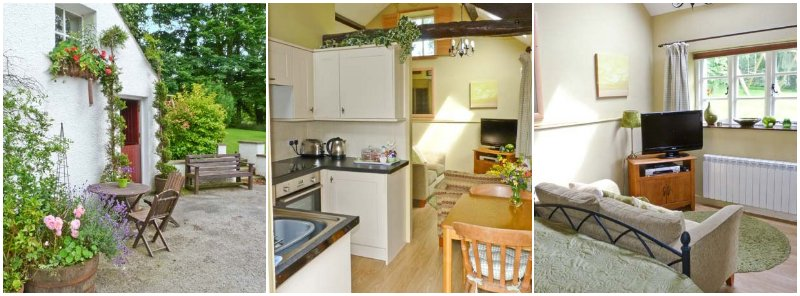 ground floor dog friendly self catering for 2 near Osprey Project under the Skiddaw Fells