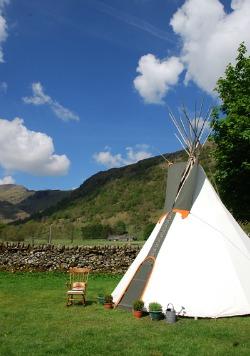 Lake District wigwam