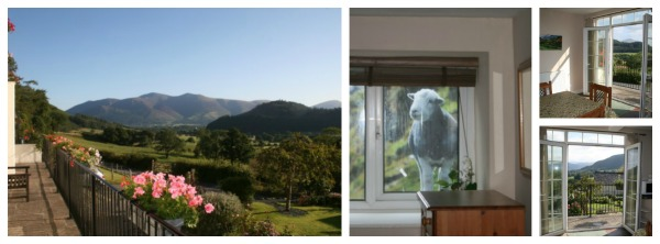 Lake District holiday cottage with great views
