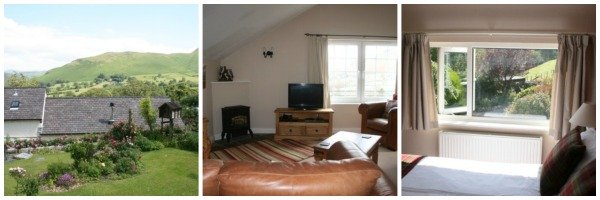 2 bed apartment northern lakes with Wifi and views