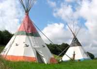 holiday tipi cumbria