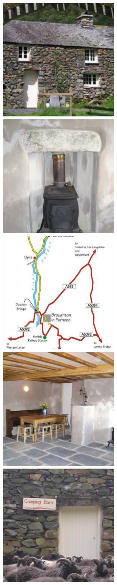 High Wallabarrow Camping Barn - Sleeps 10 in the Duddon Valley