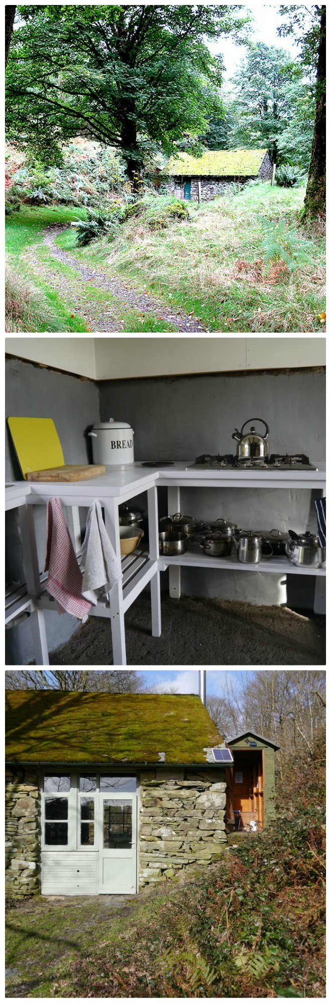 lovely rural environmentally friendly  camping barn