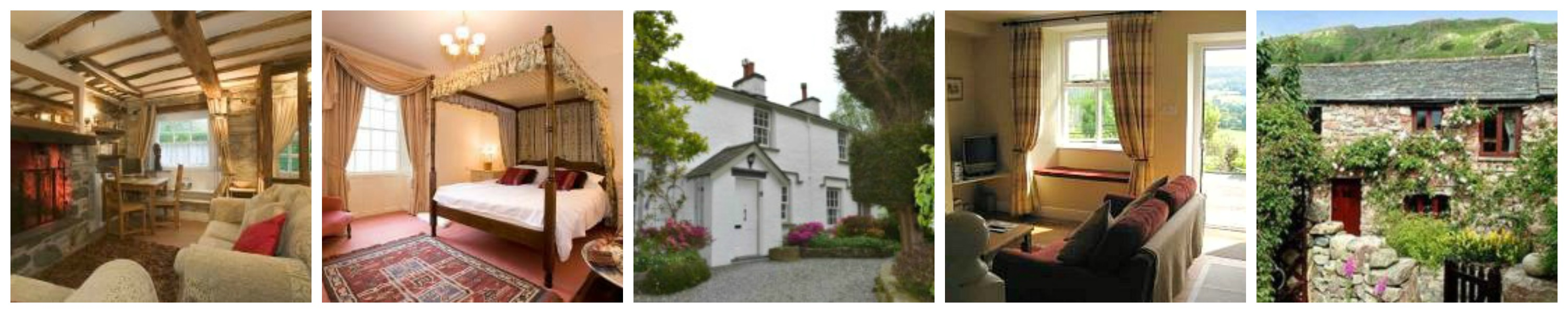a wonderful selection of self catering cottages in The English Lake District and Cumbria