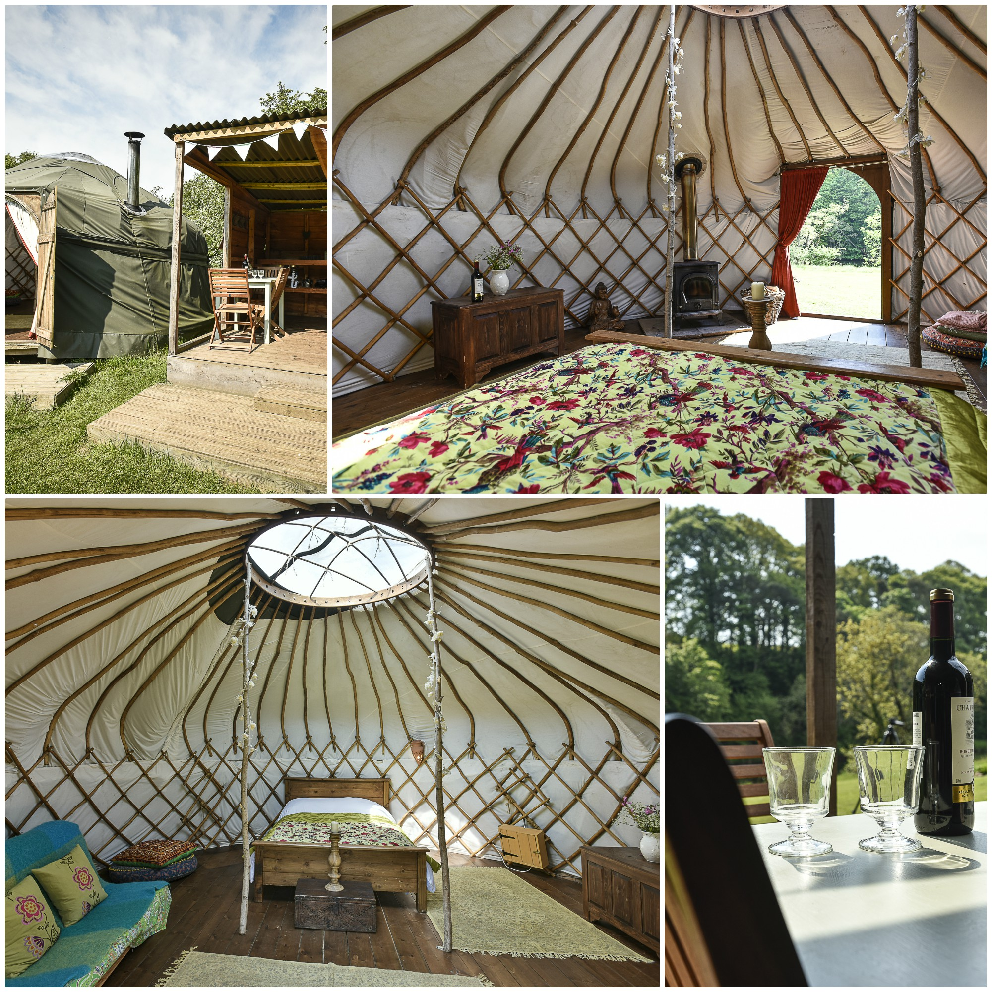 Beautiful Yurt with Hot Tub in the Eden Valley