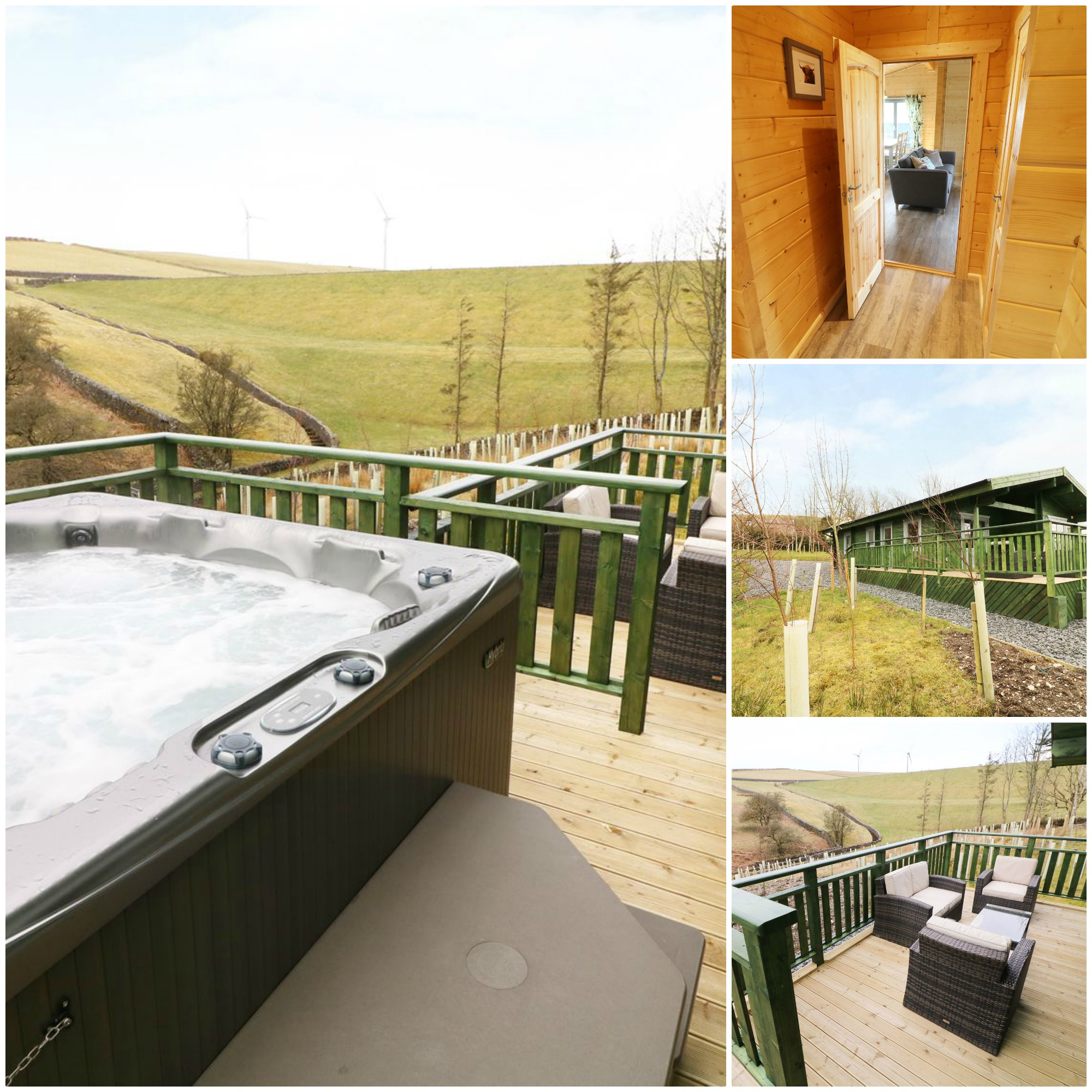 just three miles from Ulverston Elm Lodge is perfect for a family of 4 wanting to unwind and has the added bonus of a hot tub
