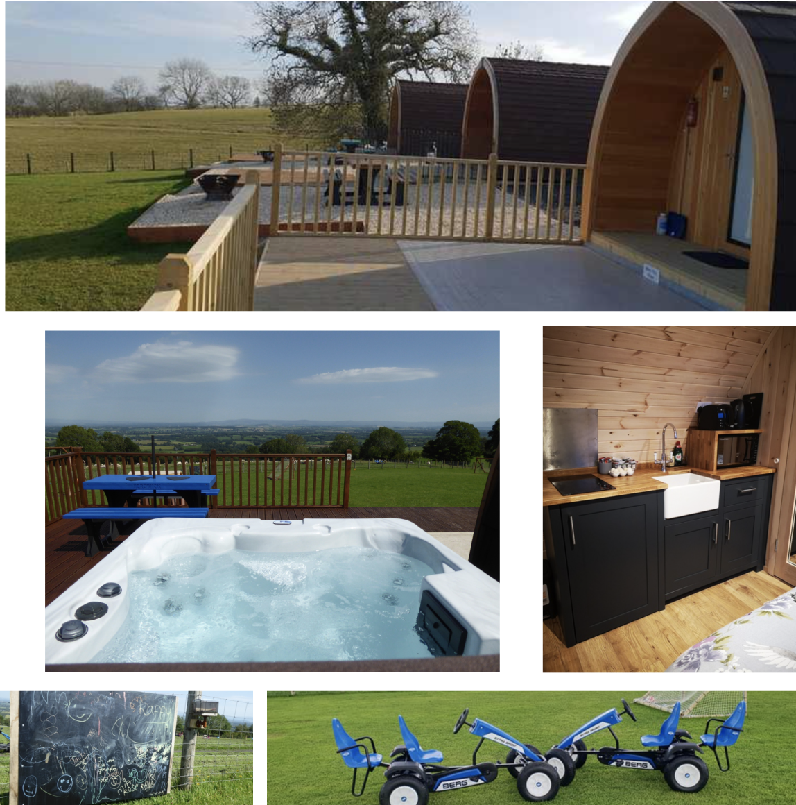 child friendly camping pods in north cumbria with hot tub