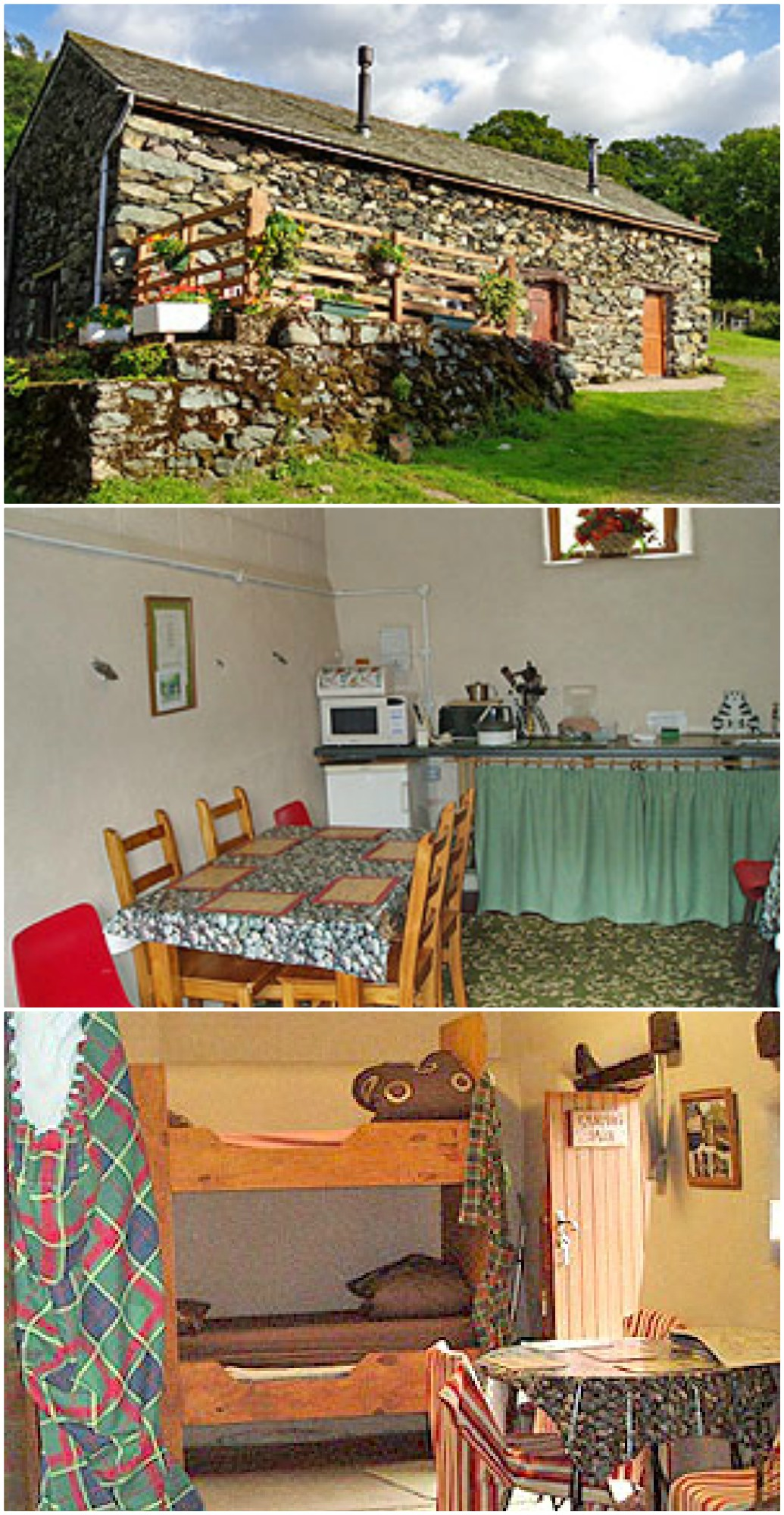 camping barn, can be B & B by request - sleeps 10