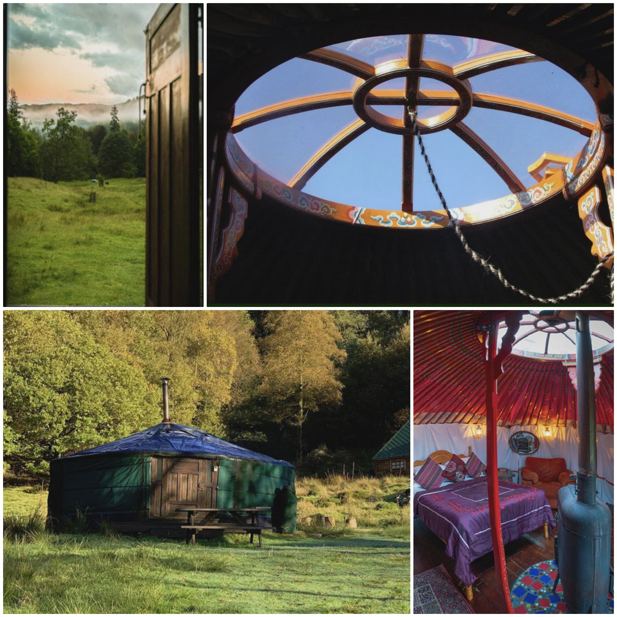set in the wonderful grounds of Rydal Hall, these Mongolian Yurts allow you to unwind and enjoy the tranquility of nature