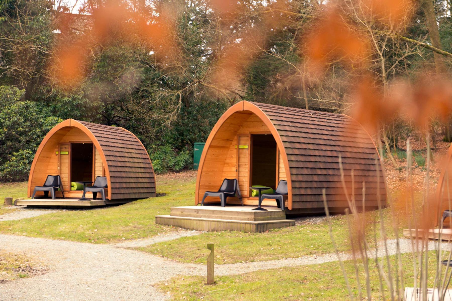Camping Pods at Hawkshead YHA