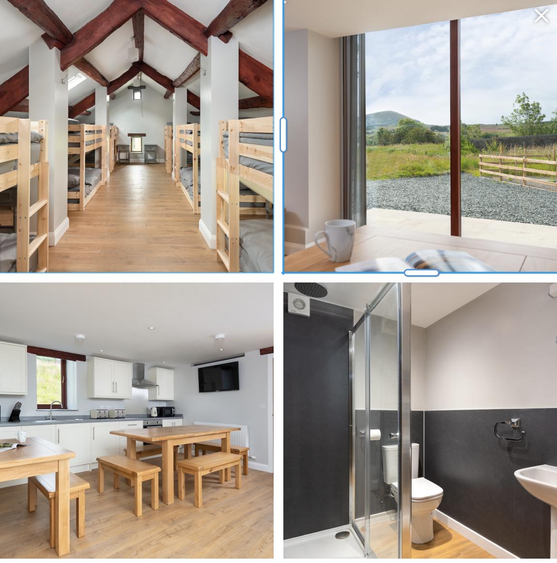 camping barn sleeps 14 with WiFi near Ullswater