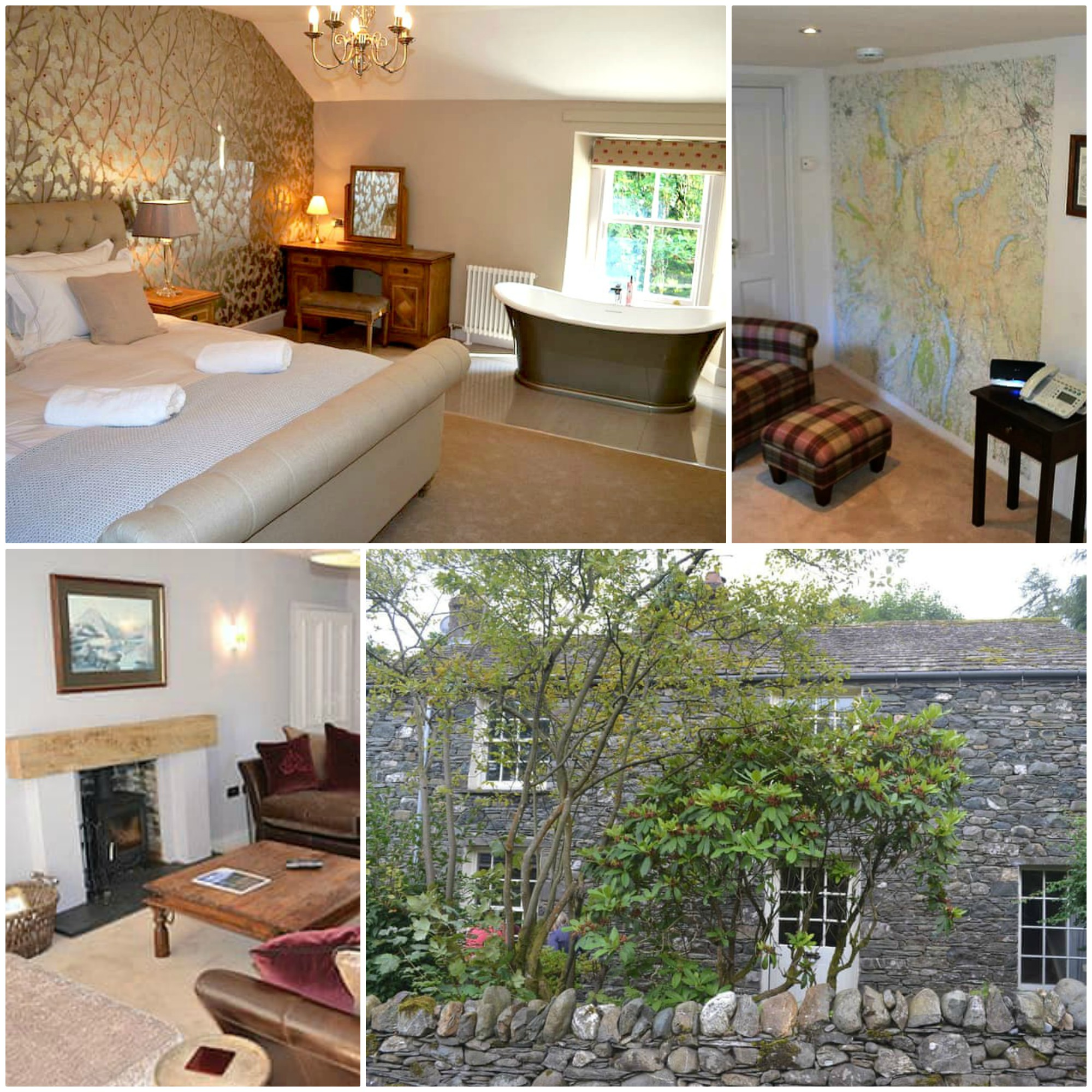 this lovely traditional Lakeland cottage has so many WOW factors, one of them is that it featured in The Telepgraphs's most remote holiday cottages